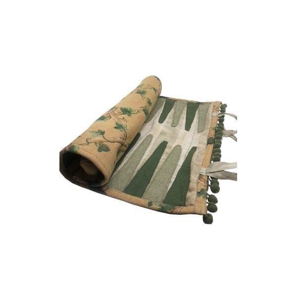 backgammon in tessuto