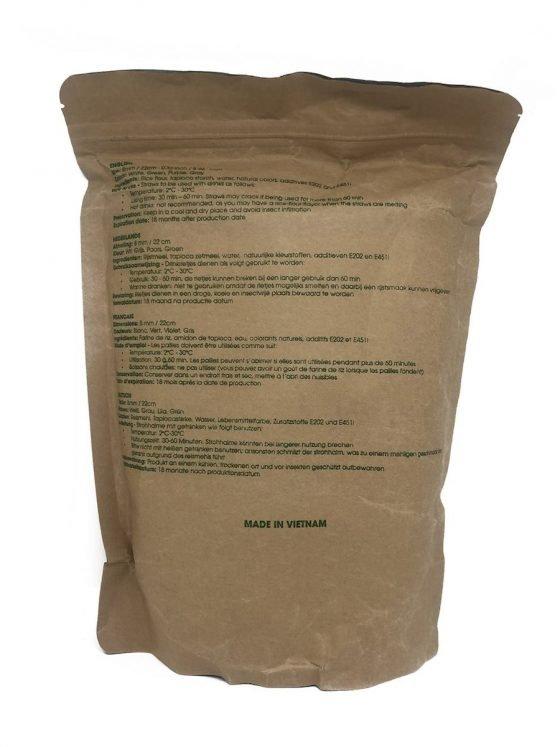 cannucce di riso eco-friendly