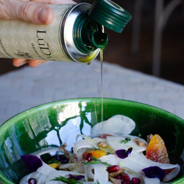olio extravergine di oliva siciliano LùDoliva 250ml