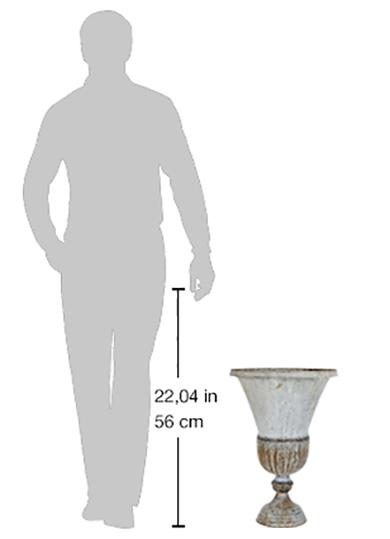 vaso in ferro grande