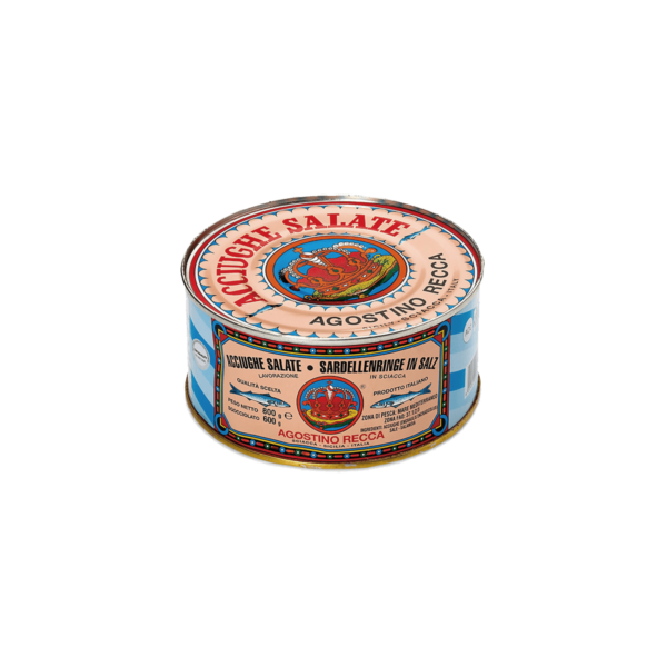 acciughe salate Agostino Recca