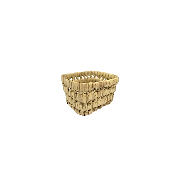 mini basket cestino in rattan