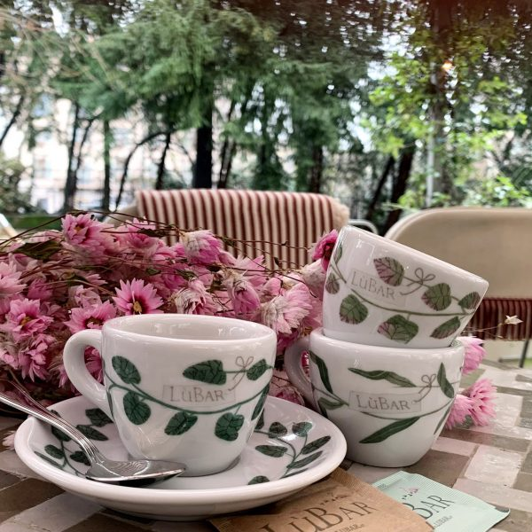 tazzina da caffe decorata