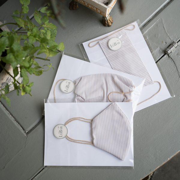 mascherina protettiva in cotone