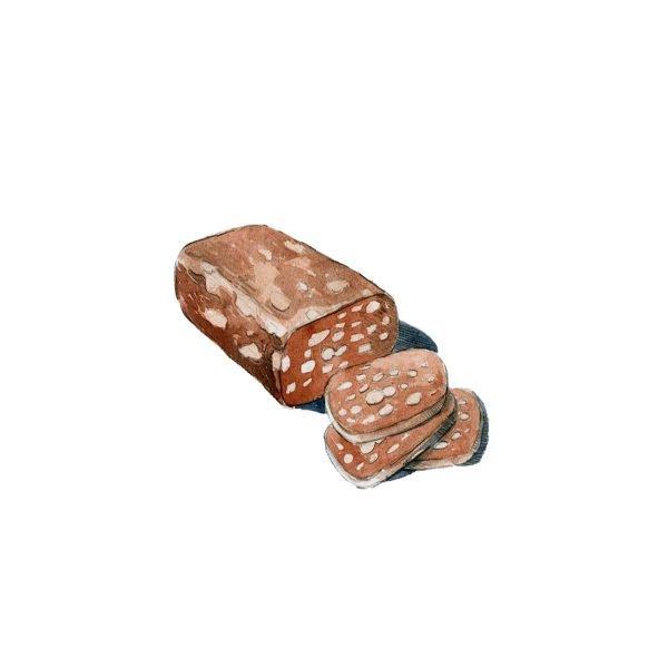 salame di cioccolato artigianale