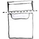 custodia in cotone portasigarette