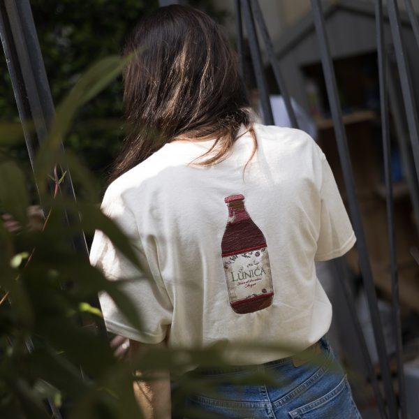 t-shirt lùnica passata di pomodoro ciliegino